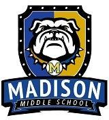 Madison Middle School Bulldogs logo